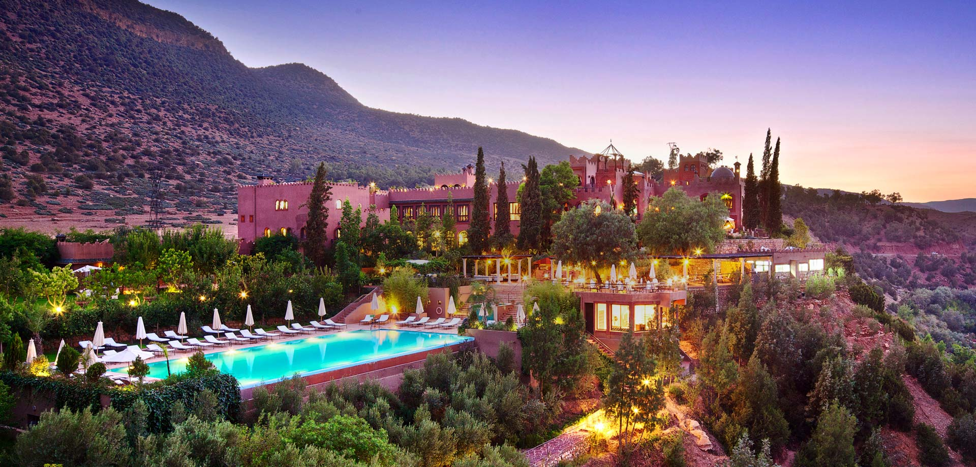 KASBAH TAMADOT - luxury boutique hotel in Atlas Mountains, Morocco