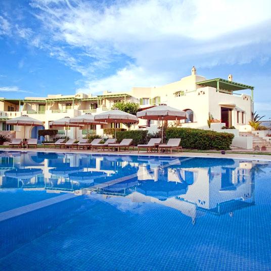 hôtel de luxe naxos