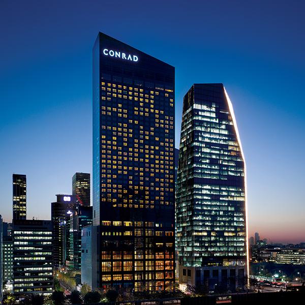 首尔港丽酒店(Conrad Seoul)