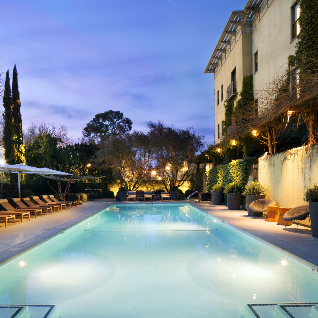 Hotel healdsburg napa sonoma valleys california 48 for Tablet hotels