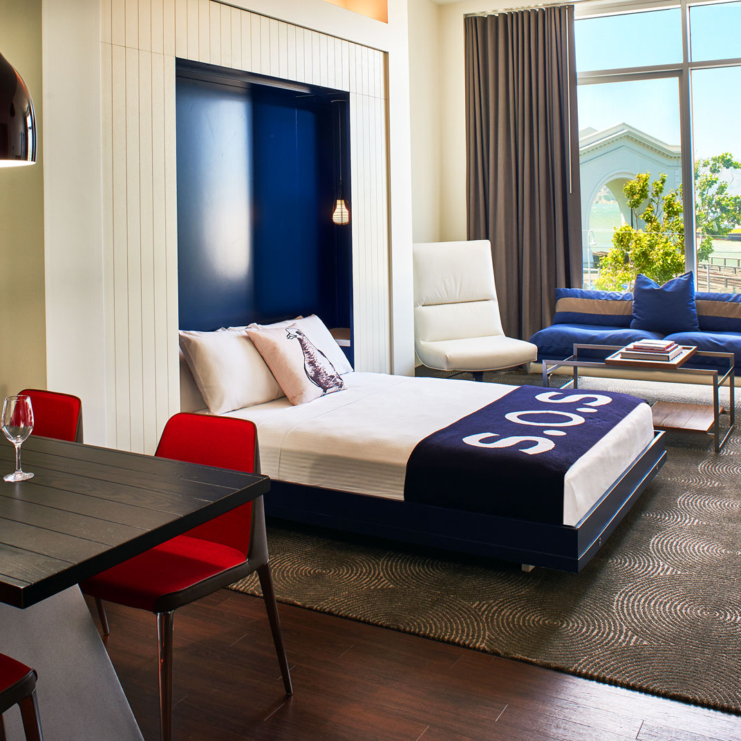 Hotel zephyr san francisco bay area california 14 for Tablets hotel