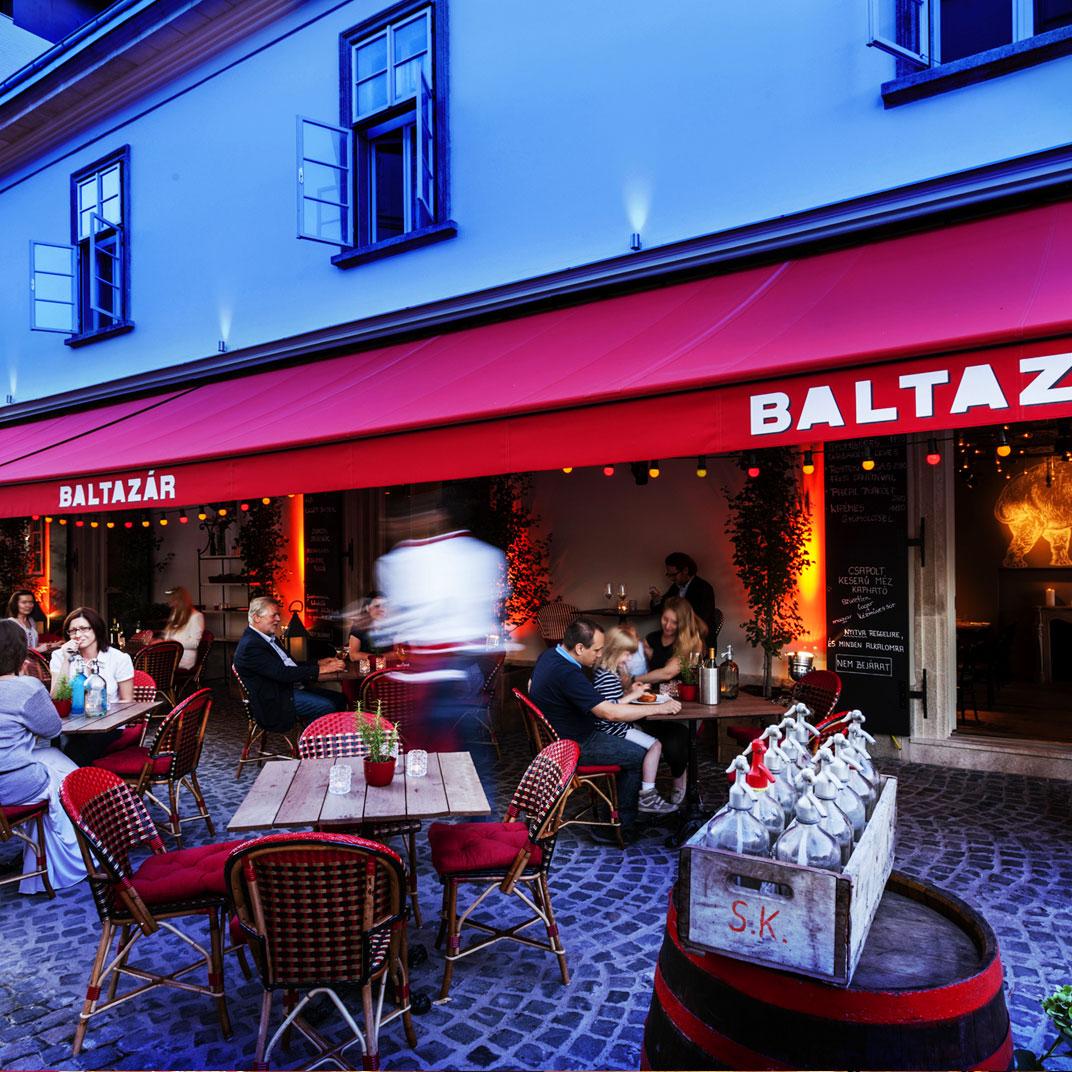布达佩斯巴尔塔扎酒店(Baltazar Budapest)