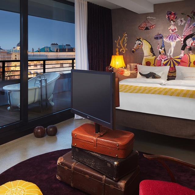 Vienna Park Apartments: 25hours Hotel At MuseumsQuartier (Vienna, Austria) 51