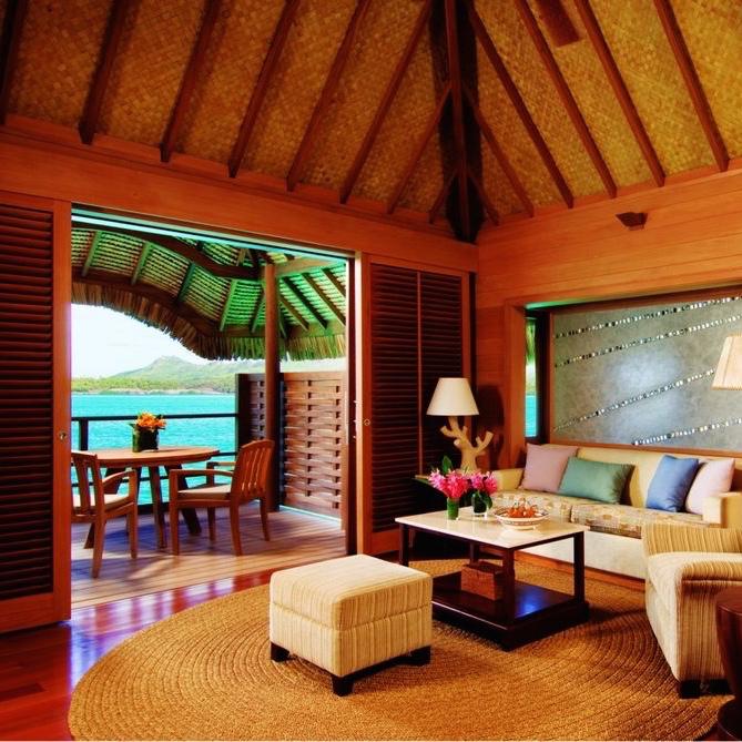 Tahiti Accommodation Over Water Bungalows: Four Seasons Resort Bora Bora (Bora Bora, Tahiti) Verified